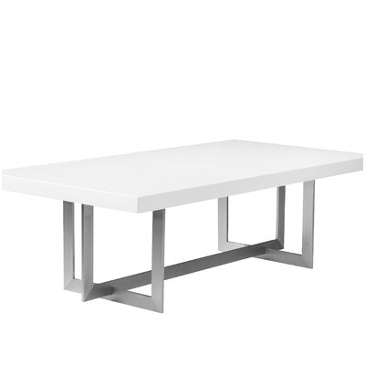 Onshuntay Rectangular Coffee Table Top Color: White
