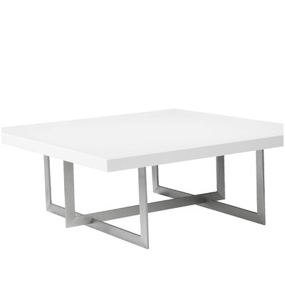 Onshuntay Square Coffee Table Top Color: White
