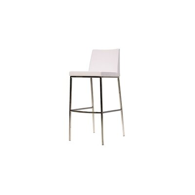 Weston 30 Bar Stool (Set of 2) Color: White