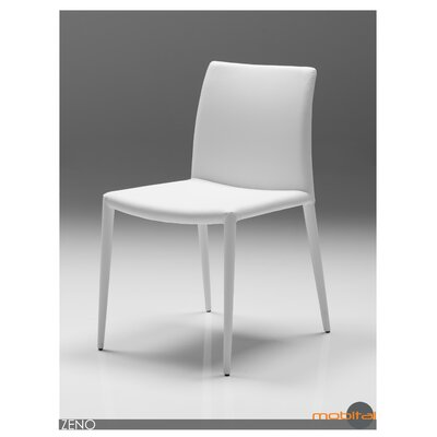 Zeno Side Chair (Set of 2) Finish: White