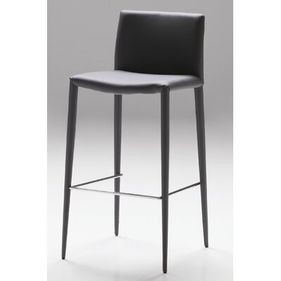 Zeno 30 Bar Stool (Set of 2) Seat: Grey