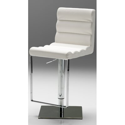 No credit financing Vola Bar Stool Seat: White...