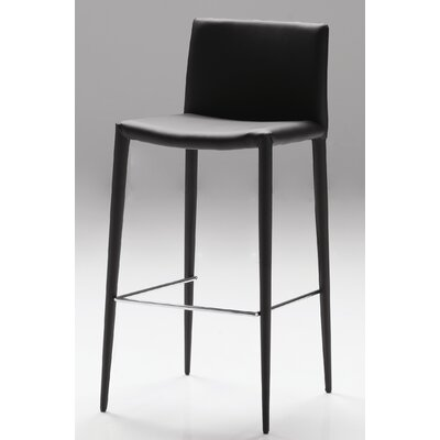 Zeno 30 Bar Stool (Set of 2) Seat: Black