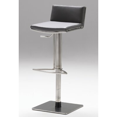 No credit check financing Bond Adjustable Bar Stool Seat: Gre...