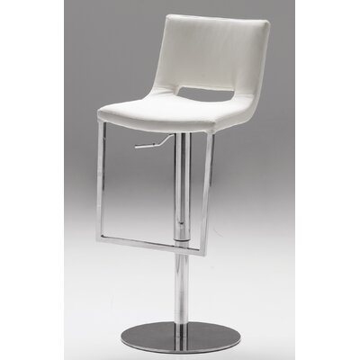 Rent Ozar Adjustable Bar Stool Seat: Whi...