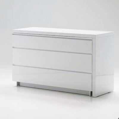 Savvy Extension Dresser Color: White