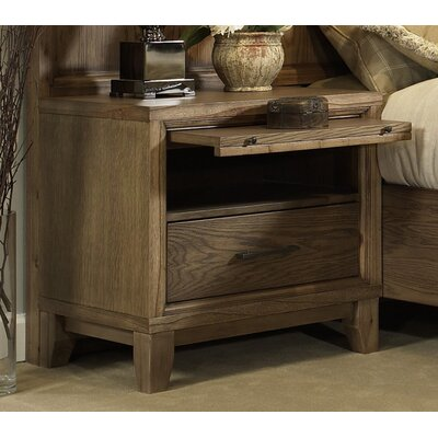 Chelsea 1 Drawer Nightstand Finish: Latte