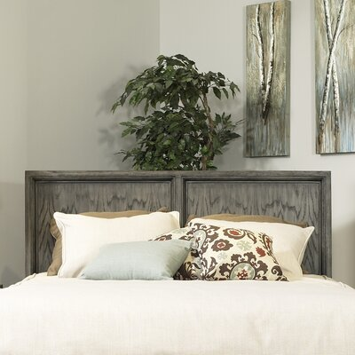 Chelsea Panel Headboard Size: Queen, Finish: Gray Wash