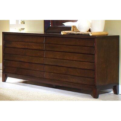 Island 6 Drawer Standard Dresser