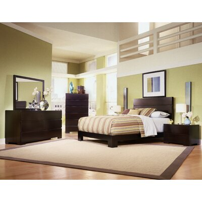 Madrid Platform Customizable Bedroom Set