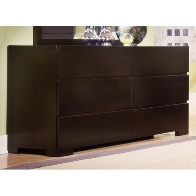 Madrid 6 Drawer Standard Dresser