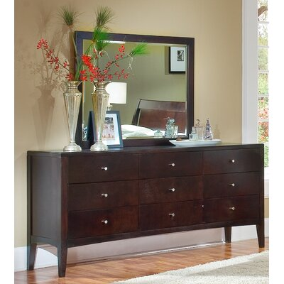 Harbor 9 Drawer Dresser with Mirror