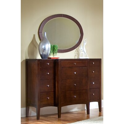 Harbor 12 Drawer  Dresser with Mirror