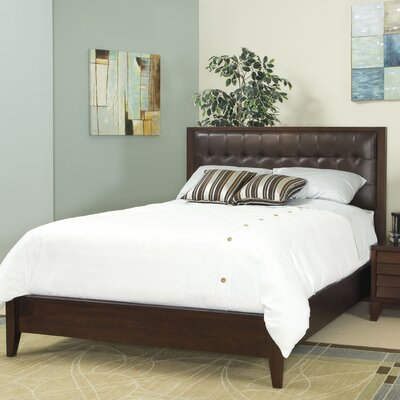 Island Upholstered Panel Bed