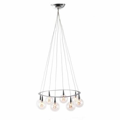 Radial 8 Light Ceiling Lamp
