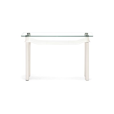 Cheap dCOR design Tier Console Table in White (ZMN1763)