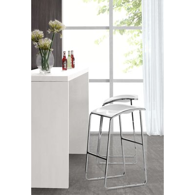 Easy financing Urbo Barstool in White (Set of 2)...