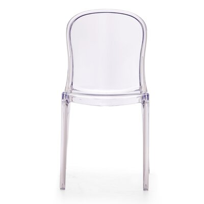 Low Price dCOR design Gumdrop Side Chair (Set of 4) Finish: Transparent Clear