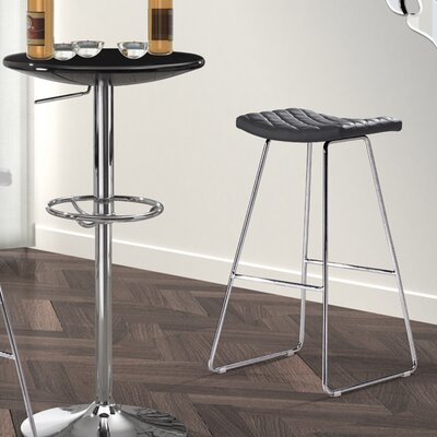 Bad credit financing Crescent Barstool in Black (Set of ...