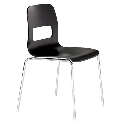 Low Price dCOR design Escape Side Chair (Set of 4) Finish: Black Matte Gloss