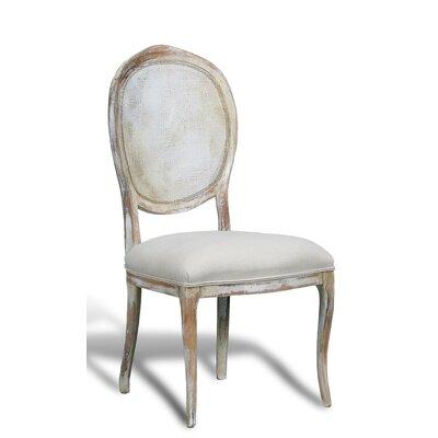 Abrella Side Chair Color: Disrupted White