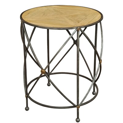 Drum and Fife Lamp Table
