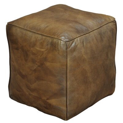 Sunday Afternoon Leather Ottoman