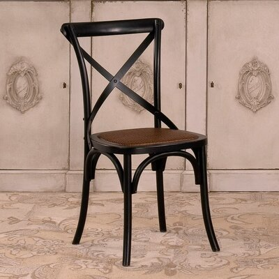Tuileries Gardens Solid Wood Dining Chair