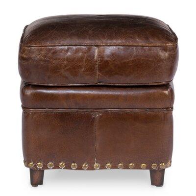 Papas Leather Ottoman