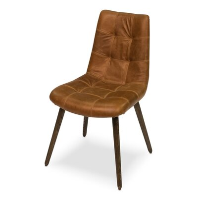 Harned Side Chair Finish: Dark Beige