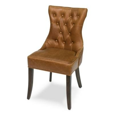 Hinckley Leather Side Chair