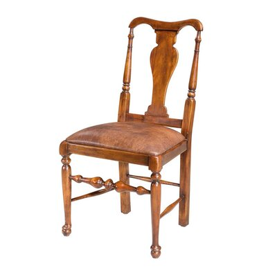 Splat Back Solid Wood Dining Chair (Set of 2)
