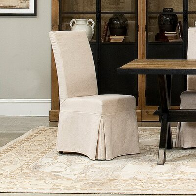Draped Upholstered Dining Chair (Set of 2)