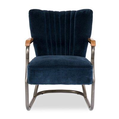 Laguana Armchair Upholstery: Blue