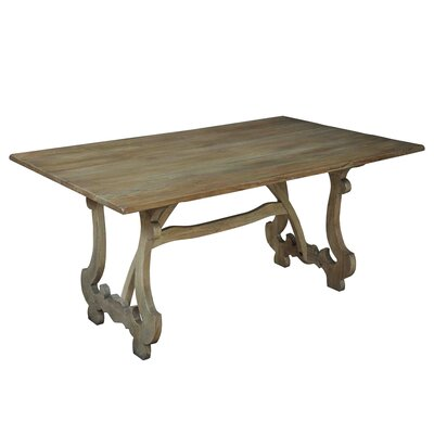 Calambac Dining Table Finish: Driftwood
