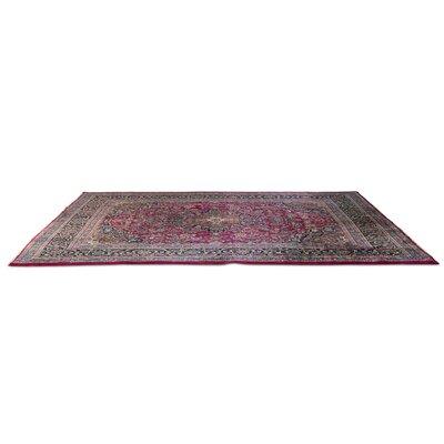 Oriental Pink/Cream Area Rug