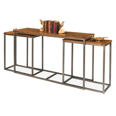 3 Piece Wall Console Table Set