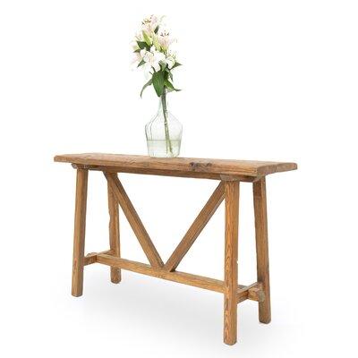 Floor Board Console Table