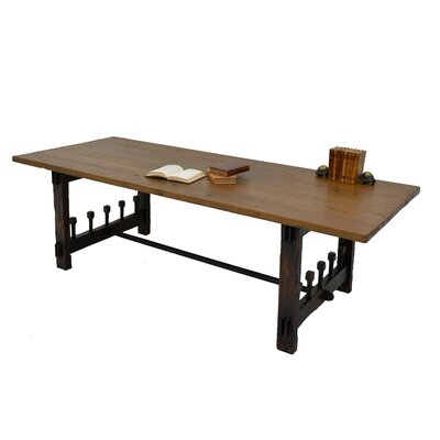 Wood Screw Dining Table