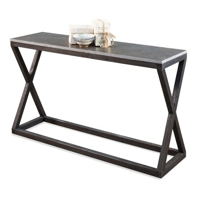 Lewis Cross Console Table
