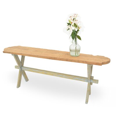 Floor Board Console Table