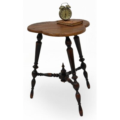 Turned Leg Tripod End Table