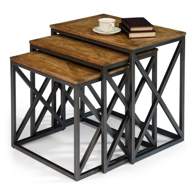 Bohemian Cluster 3 Piece Nesting Tables