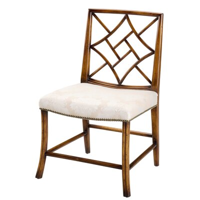 Lady Zetlands Solid Wood Dining Chair (Set of 2)