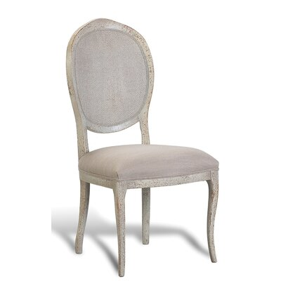 Abrella Oval Back Side Chair (Set of 2) Color: Beige