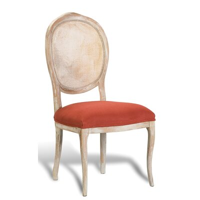 Abrella Oval Back Side Chair (Set of 2) Color: Saffron