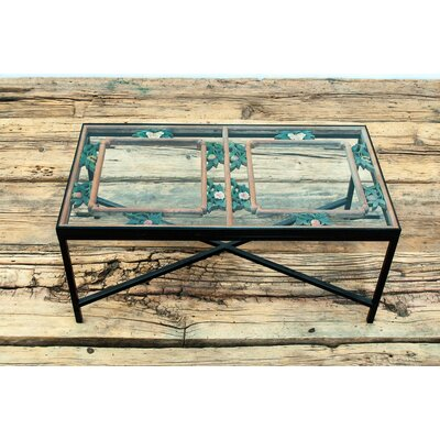 Antique Window Framed Coffee Table