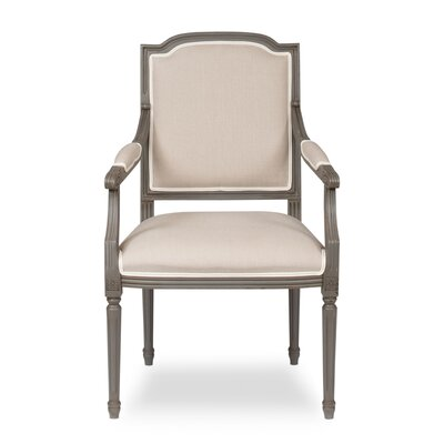 Louis Xvi Squared Arm Chair