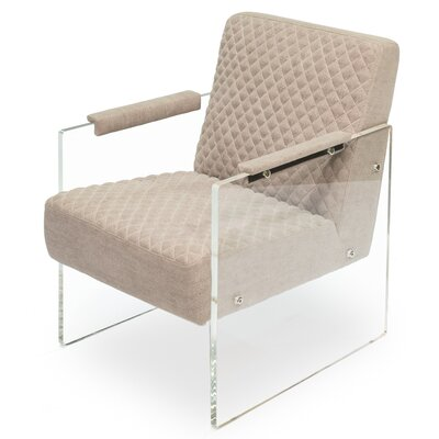 Just Look Acrylic Arm Chair