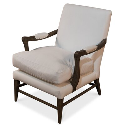 Palmer Arm Chair Upholstery: Bella White